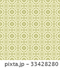 Green Flower Seamless Pattern Background. Vector. 33428280
