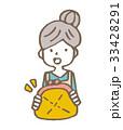 女性 財布【線画・シリーズ】 33428291
