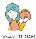 節約【線画・シリーズ】 33428294