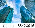 ビル 高層ビル オフィス街の写真 33428616