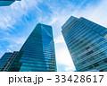 ビル 高層ビル オフィス街の写真 33428617