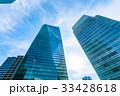 ビル 高層ビル オフィス街の写真 33428618