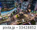 《愛知県》名古屋駅前・都市風景《夜景》 33428852
