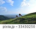 若草山 奈良 鹿の写真 33430250