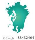 九州地図 33432404