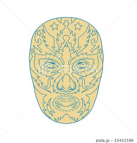 Luchador Lucha Libre Mask 33432596