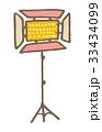 照明【線画・シリーズ】 33434099