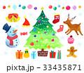 クリスマスイラスト 33435871