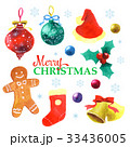 クリスマスイラスト 33436005