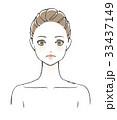 女性 美容 ベクターのイラスト 33437149