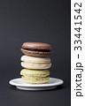 お菓子 マカロン 積み重ねスタッキングの写真 33441542