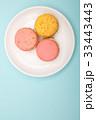 お菓子 マカロン 食べ物の写真 33443443