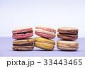 お菓子 マカロン 積み重ねスタッキングの写真 33443465