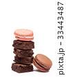 お菓子 マカロン 積み重ねスタッキングの写真 33443487