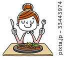 女性:食事、ごちそう 33443974