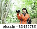 登山 女性 山ガールの写真 33459735