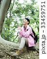 登山 女性 山ガールの写真 33459751