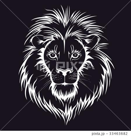 Lion head logo. Vector illustration, isolated on 33463682