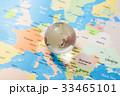 地図と地球 グローバルイメージ 33465101