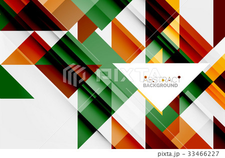 Triangle pattern design backgroundのイラスト素材 [33466227] - PIXTA