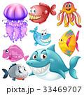 トロピカル サカナ 魚のイラスト 33469707