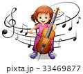 子供 子 少女のイラスト 33469877