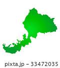 福井県地図 33472035