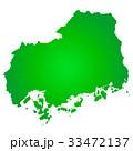 広島県地図 広島 広島県のイラスト 33472137