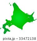北海道地図 33472138