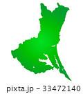 茨城県地図 茨城県 地図のイラスト 33472140