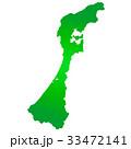 石川県地図 33472141