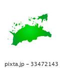 香川県地図 33472143