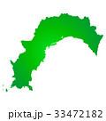 高知県地図 33472182