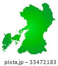 熊本県地図 33472183