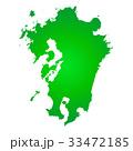 九州地図 33472185
