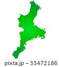 三重県地図 三重県 三重のイラスト 33472186