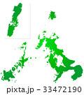 長崎県地図 33472190