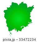 岡山県地図 33472234