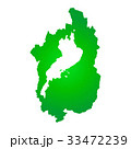 滋賀県地図 33472239