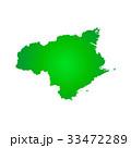 徳島県地図 33472289