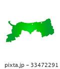 鳥取県地図 33472291