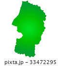 山形県地図 33472295