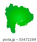 山梨県地図 33472299