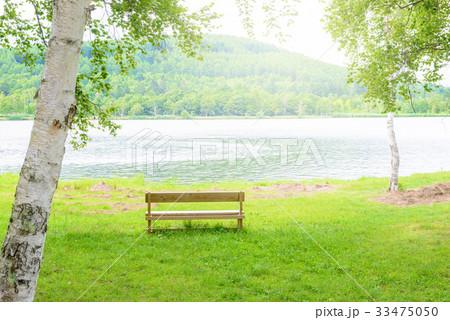湖畔の風景 33475050