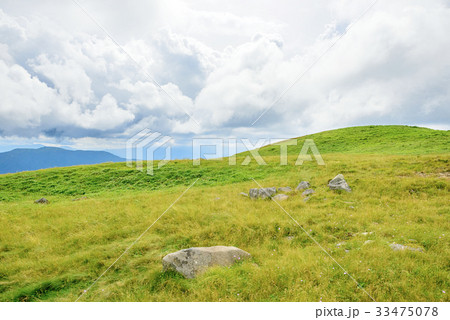 高地の草原 33475078