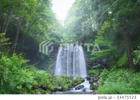 日本の滝、長野県、上田市、菅平高原。 33475523