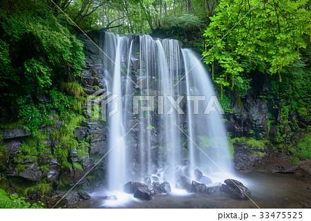 日本の滝、長野県、上田市、菅平高原。 33475525
