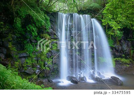 日本の滝、長野県、上田市、菅平高原。 33475595