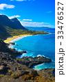 マカプウビーチ 海 ハワイの写真 33476527