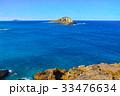 ラビット島 島 海の写真 33476634